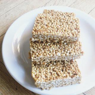 Puffed Quinoa Granola Bars**