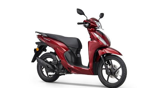Honda Vision 110 se une a la completa gama Honda 2021 de scooters y motocicletas