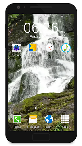 Live Wallpaper Waterfall|玩休閒App免費|玩APPs