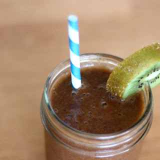 Vitamin C Immunity Booster Green Smoothie.