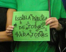Photo: Manifestación del 22 de octubre de 2011 en favor de  la Educación Pública (Atocha-Sol) 1