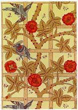Photo: 1864 AN EARLY WILLIAM MORRIS PATTERN