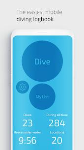 Dive Number-diving logbook and dive site map 1.6.5 MOD + APK + DATA Download 2