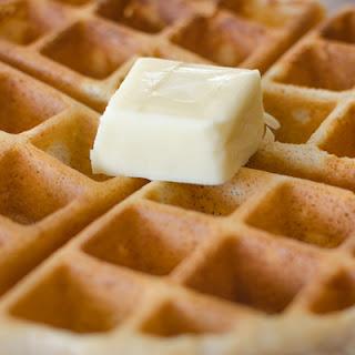 Crispy Cinnamon Waffles