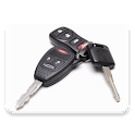Car key lock_remote-Universal icon