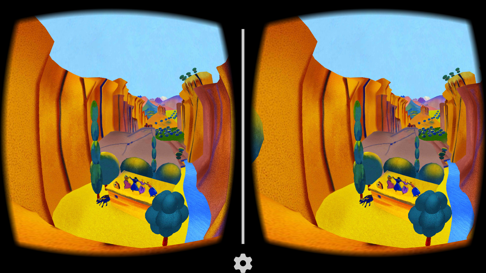 Saryan VR - Cardboard- screenshot