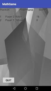 MathGame - náhled