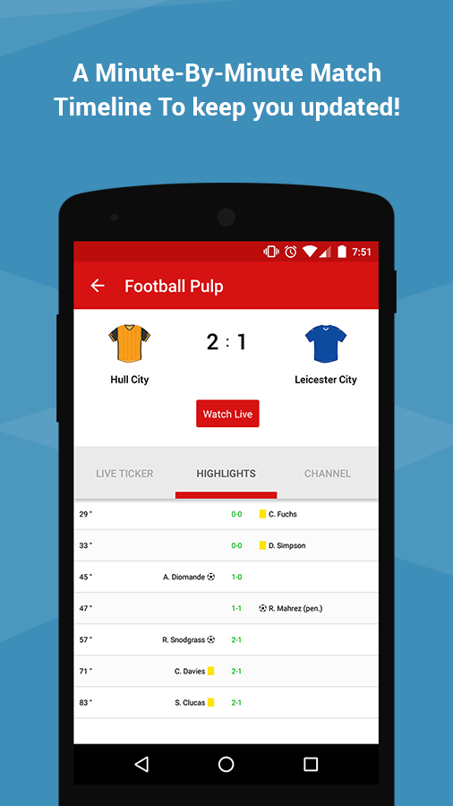 Football Pulp – Live the Game- screenshot