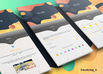 Envolving S for klwp 4 Latest APK Free Download 2