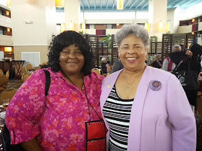Photo: Taneya & Marsha J. Bembry at AAHGS - 10/13/13