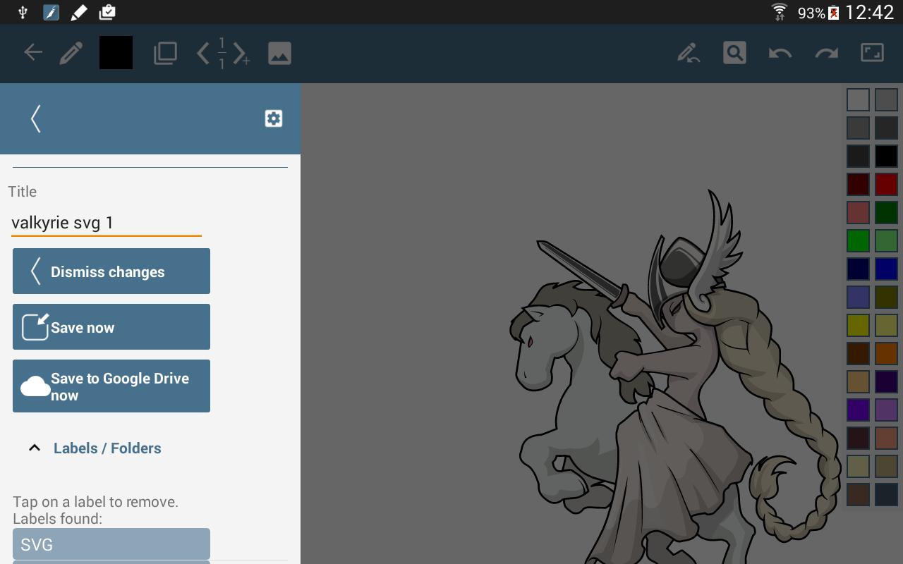 HandWrite Pro Note & Draw screenshot #6