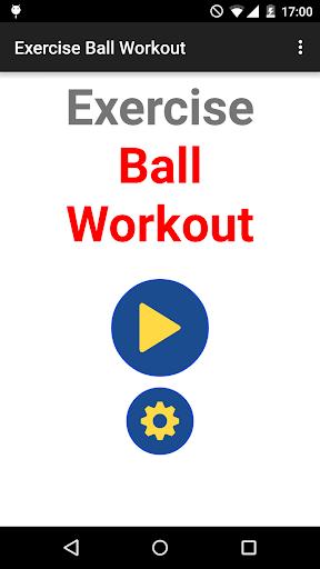 Exercise Ball Workout Routine