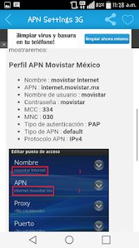 APN Settings 3G