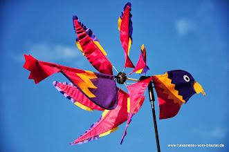 Photo: Windspiele sind auch viele im Garten zu finden....