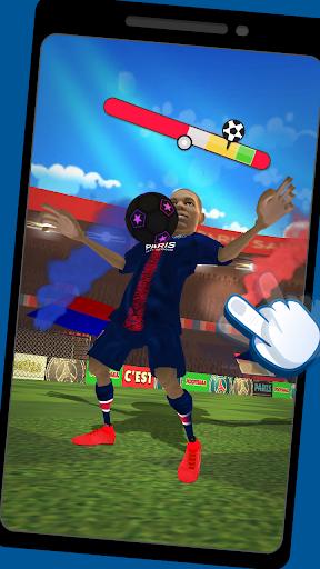 PSG Football Freestyle captures d'u00e9cran 2