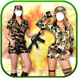 Women Army Photo Suit New free download apk