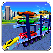 Multi Storey Car Transport 3d