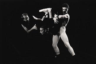 Photo: In 1986 Rudolf Nureyev became Artist Laureate of Northern Ballet Theatre under Robert de Warren - pictured here together during rehearsals for Othello.