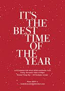 The Best Time of the Year - Christmas Card item