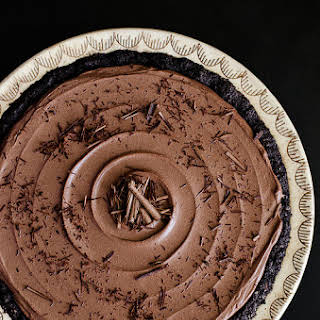 Chocolate Mousse Pie.
