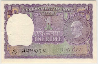 Photo: A21, I G Patel Gandhi Centenary issue.