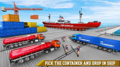 Transport Ship Euro Truck Cargo Transport Games modavailable screenshots 5