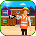 Beach Dream House Construction – Decorating Games icon