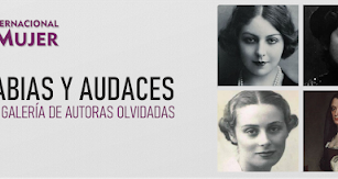 Detalle del cartel de 'Sabias y audaces'.