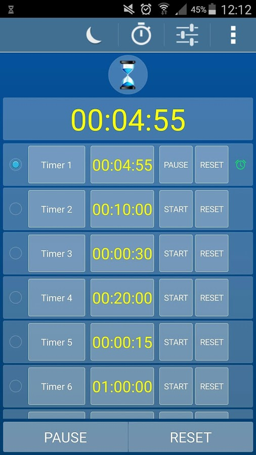 Alarm Clock Timer Stopwatch- screenshot