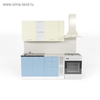 Кухонный гарнитур Алиса нормал  4 1500 мм