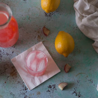 Rhubarb Pink Lemonade