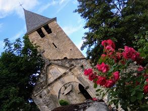 Photo: Lescun, 900m, chiesa parrocchiale.