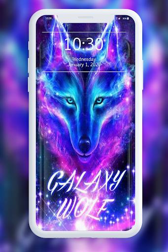 Galaxy Wild Wolf Wallpapers 1.0 screenshots 8