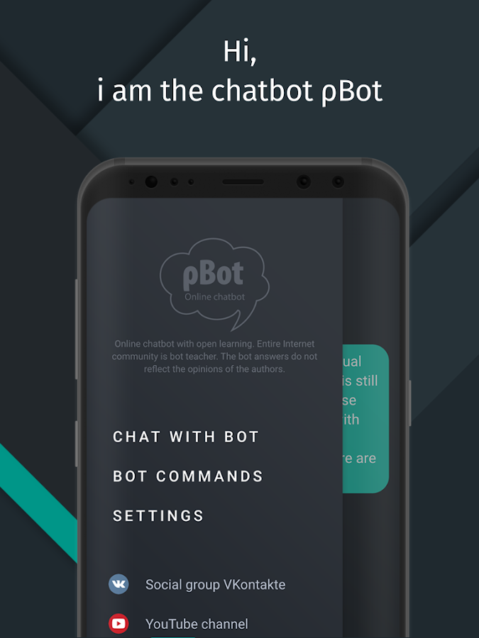 Chatbot roBot- screenshot