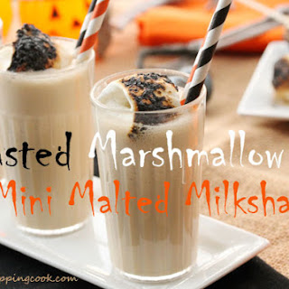Toasted Marshmallow Mini Malted Milkshake