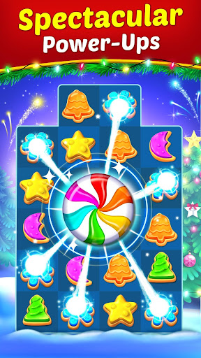 Christmas Cookie - Santa Claus's Match 3 Adventure modavailable screenshots 2