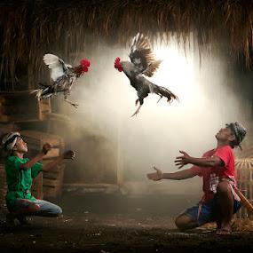 Final Battle by Joni Irwanto - People Portraits of Men ( strobist, indonesia )