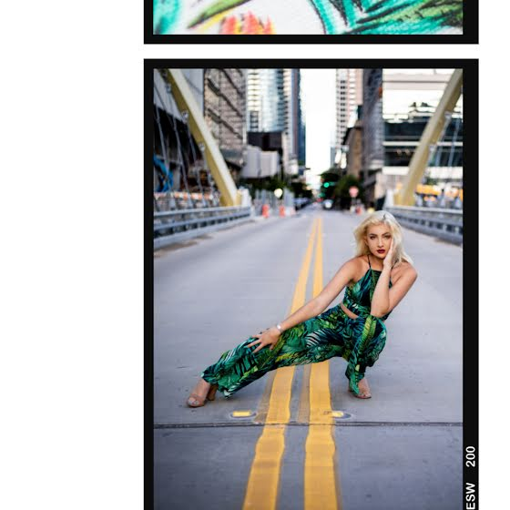 Palm Print Frame - Instagram Post Template