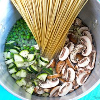 One Pot Vegan Mushroom Pasta Recipe