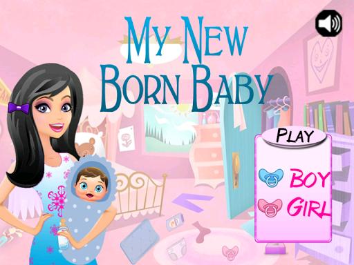 My New Baby Born