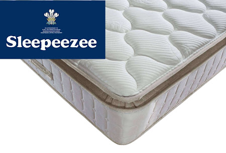 1000 Mirapocket Sprung mattress, individual responsive springs to provide zoned support. Traditional Turn-able Mattress.