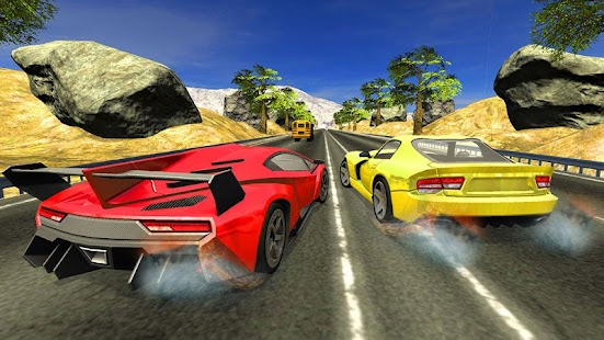 Free New Car Games Top Drift Highway Traffic Racer - náhled