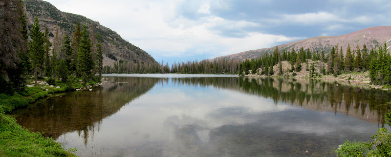 Photo: Ostler Lake reflection
