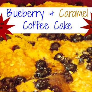 Blueberry & Caramel Coffee Cake