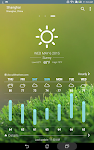 screenshot of ASUS Weather