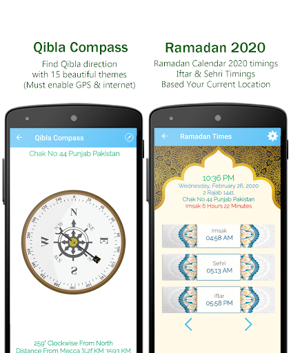 Muslim Prayer Pro with Azan, Quran & Qibla Compass screenshot 3