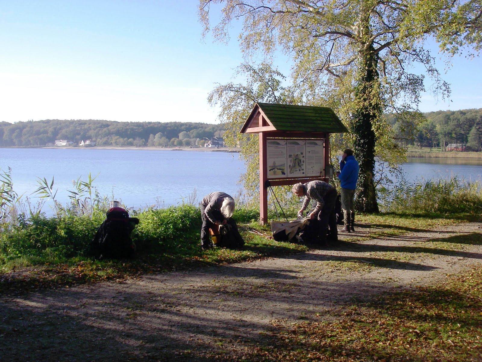 Photo: Første glimt af Flensborg Fjord.