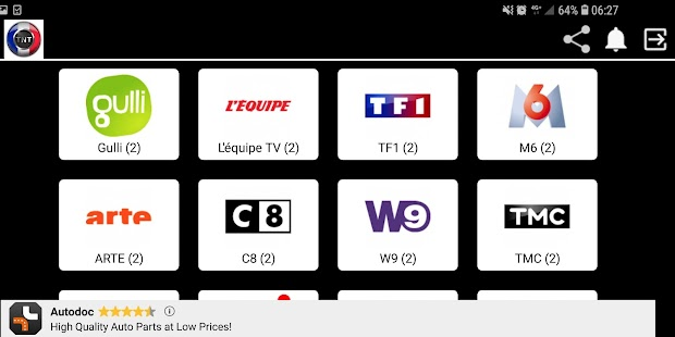 TNT France Web Capture d'écran