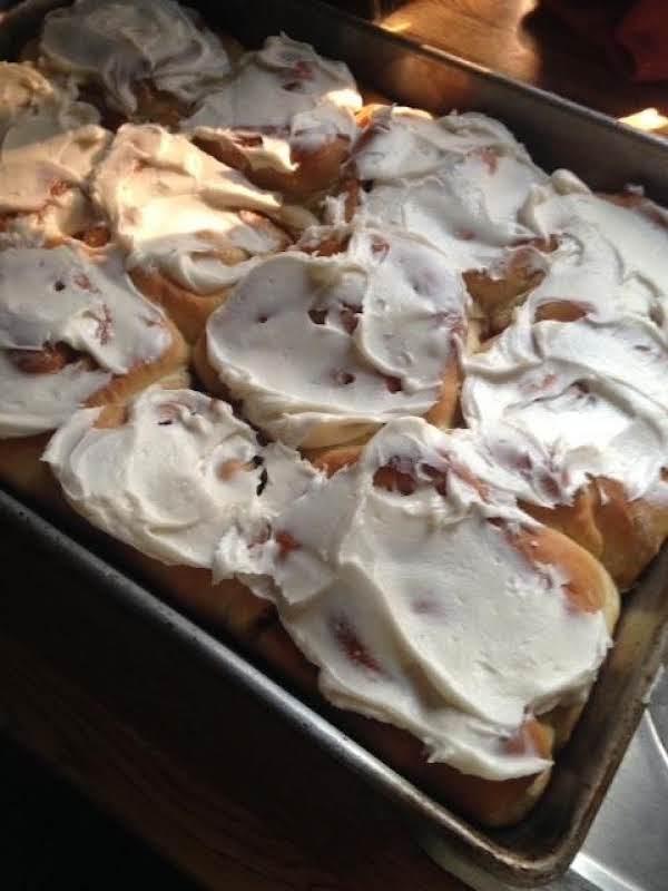 Tina's Cake Mix Cinnamon Rolls From Helen Hartman