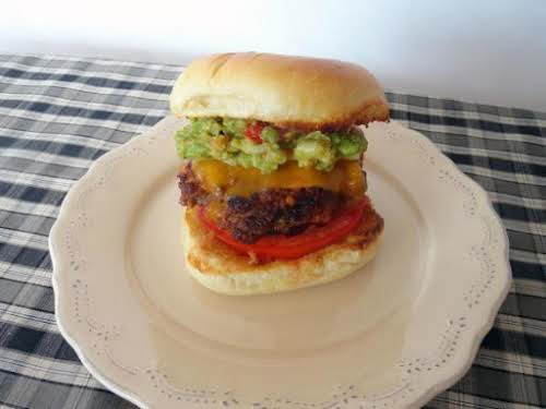 "Chorizo, Bacon Cheddarburger ""BOOM!! That sound you just heard was a flavor..."